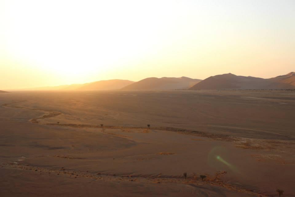 Sossusvlei Sonnenuntergang