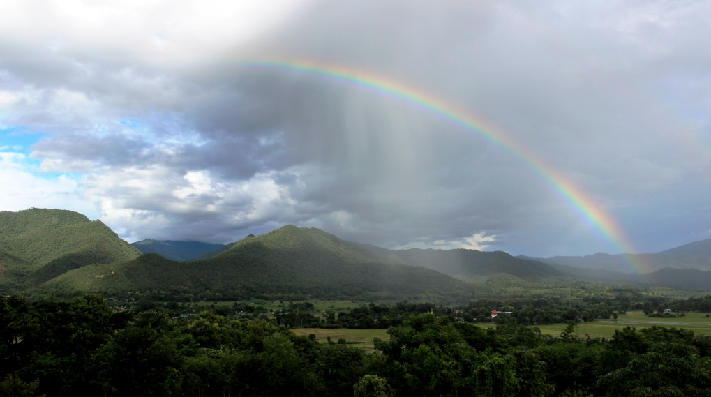 Thailand Regenbogen